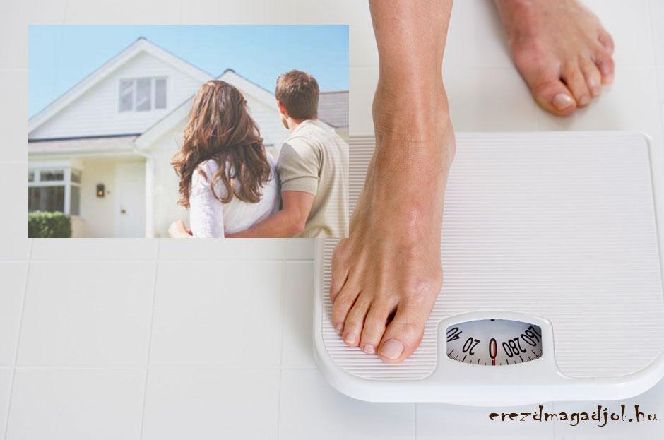 Kövérré tesz a lakásod?