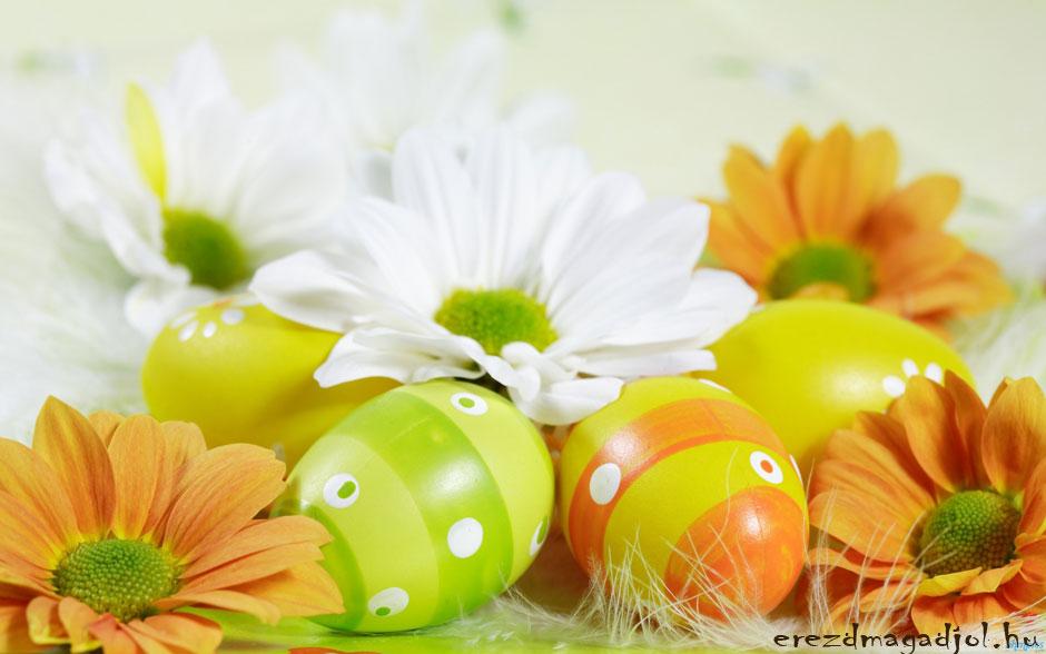 Húsvéti dekoráció a lakásban
