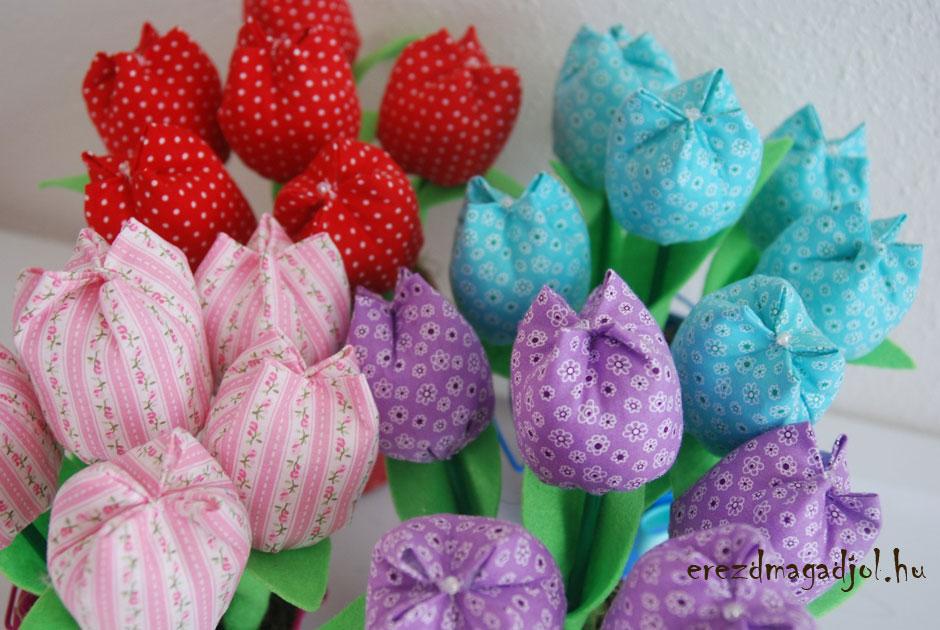 Varrjunk tulipánt otthon