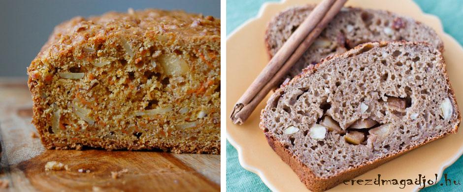 Diétás kenyér variációk