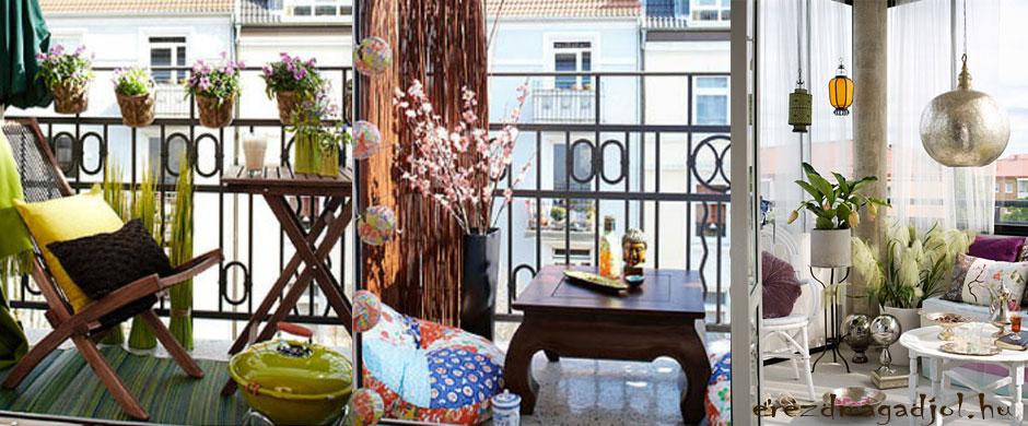 Élvezd a nyarat az erkélyen