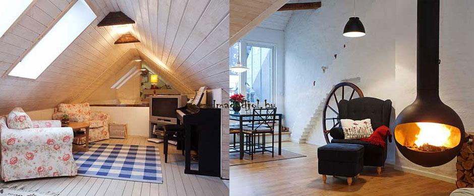 Penthouse Stockholmban – skandináv tetőtér