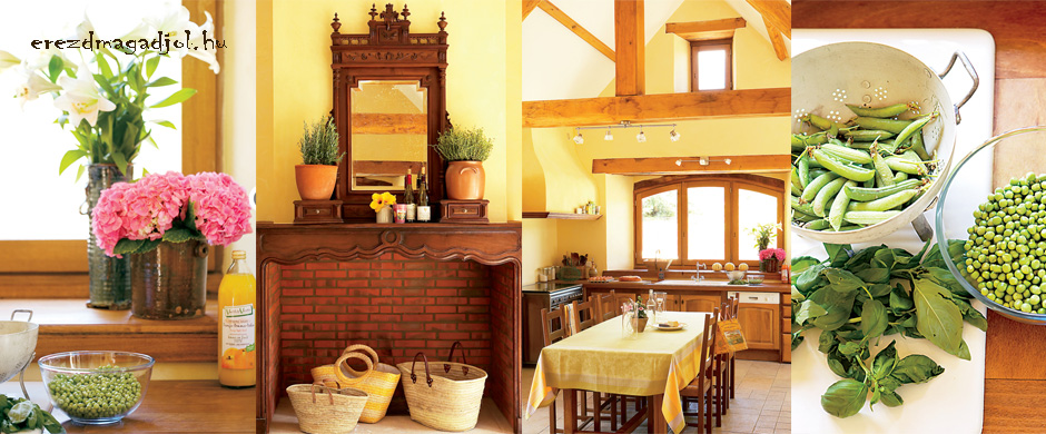 Francia vidéki stílus – idilli otthon