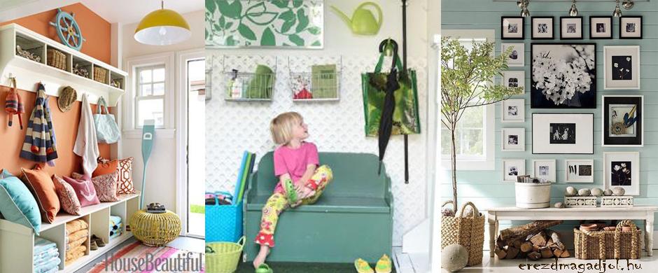 Praktikus előszoba dekoráció – hasznos, olcsó ötletek