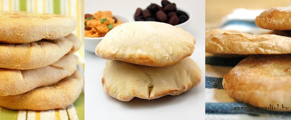 Házi, diétás pita – egészséges gyorsételek
