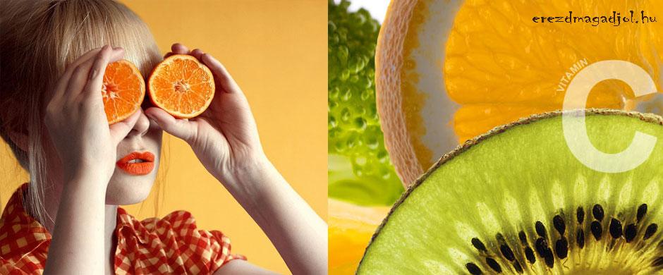 C-vitamin- kerüld el a betegséget