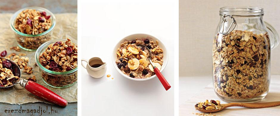 Egészséges,cukormentes müzli házilag – Diétás reggelik