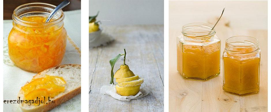 Cukormentes citromlekvár
