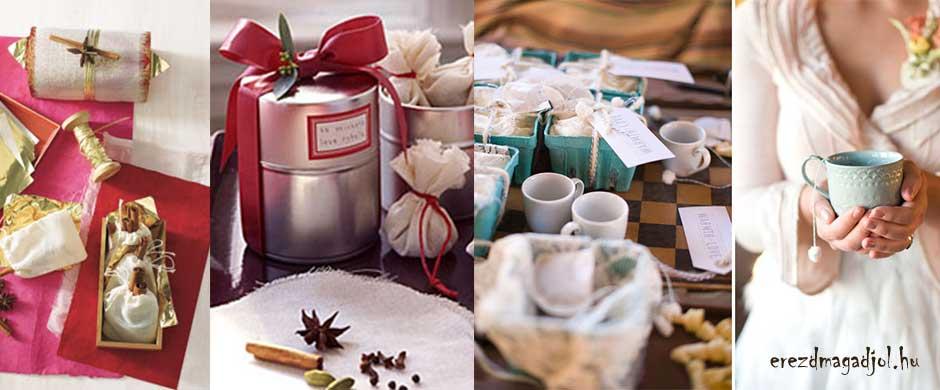 Tea, kávé, forralt bor? Hihetetlen ajándék tippek karácsonyra