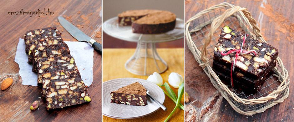Diétás keksz szalámi – cukormentes élvezet karácsonyra