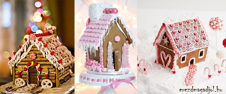 Mézeskalács házikó – karácsonyi ajándék ötletek