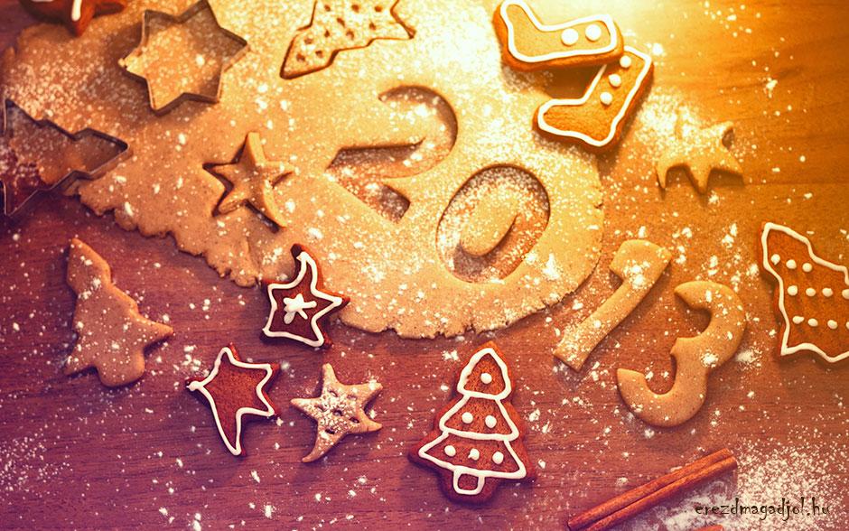 Irány 2013- szilveszteri dekoráció