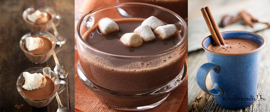 Legfinomabb, legegyszerűbb forró csoki diétásan