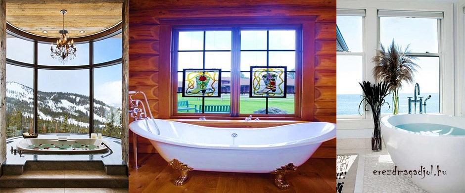 Bámulatos fürdőszobai kilátás