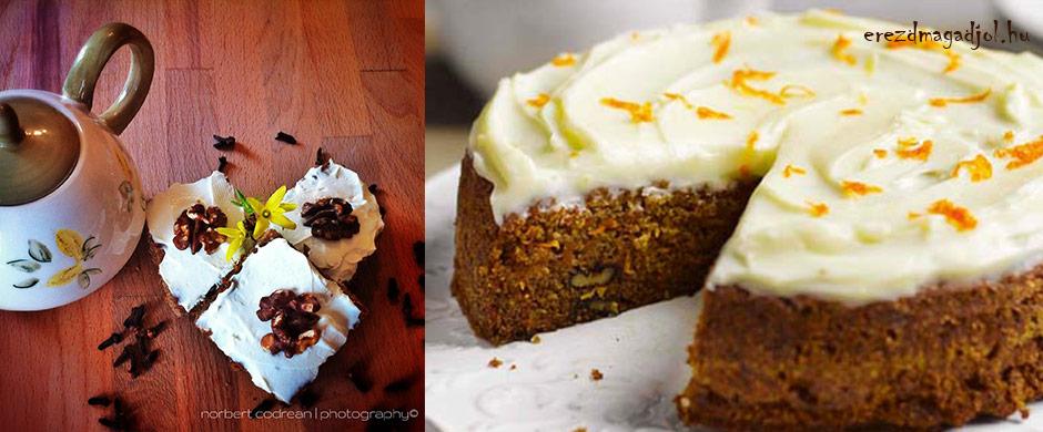 Diétás diós répatorta – mennyei diétás süti a családnak