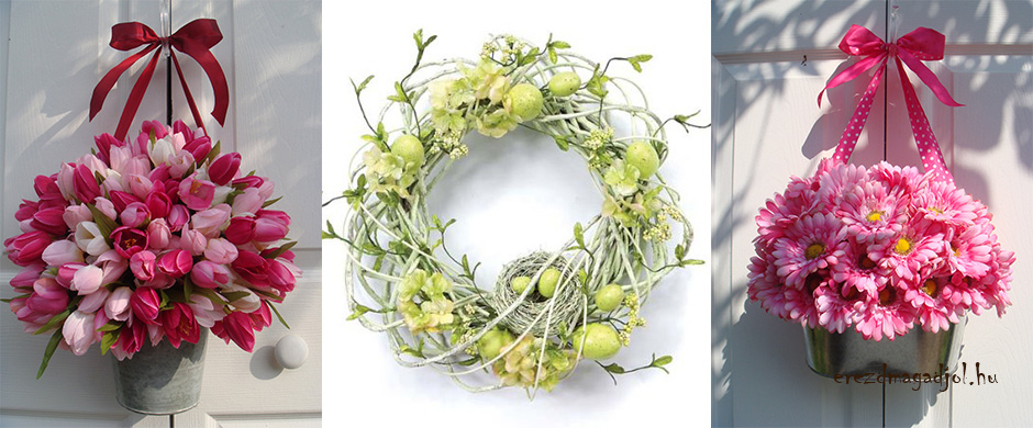 Húsvéti ajtódísz – Húsvéti dekorációs ötletek