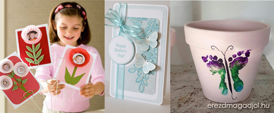 Házi készítésű anyák napi ötletek