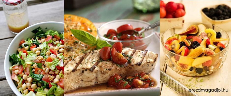 Testkontroll diétás étrend