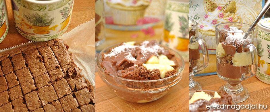 Vaníliás-csokis-kókuszos diétás nasi