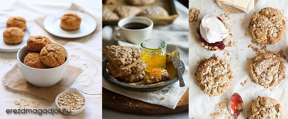 Zabpelyhes scone – tökéletes reggeli választás