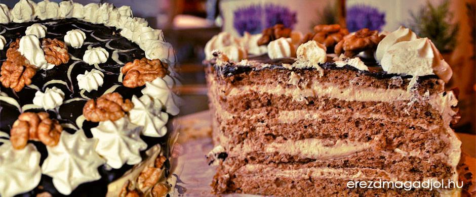 Diétás Esterházy torta – cukormentes torta recept