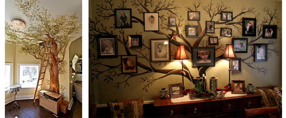 Kreatív lakberendezés – fessünk életet a szobába