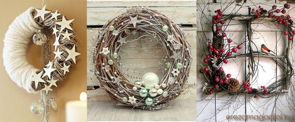 Karácsonyi ajtó és ablakdíszek – karácsonyi ötletek