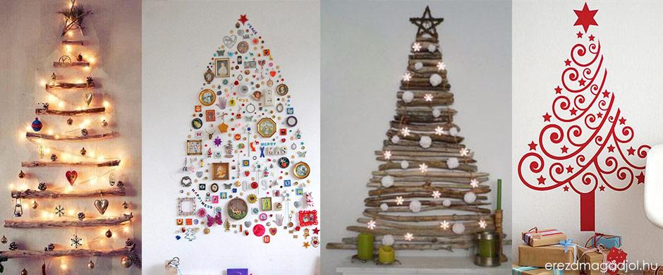 Alternatív karácsonyfa – védjük a természetet