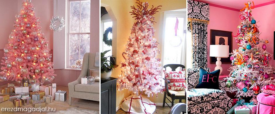 Elképesztő karácsonyfa ötletek – Bevállalnád?