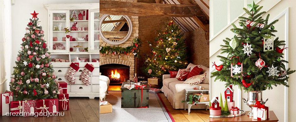 Karácsonyfa dekorációk – inspirációk karácsonyra