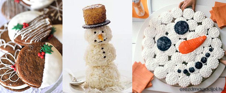 Karácsonyi süti ötletek