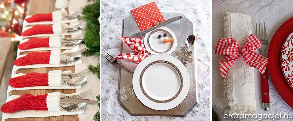 Karácsonyi varázs az asztalon – Hogyan terítsünk karácsonykor?