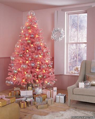 pink-karacsonyfa