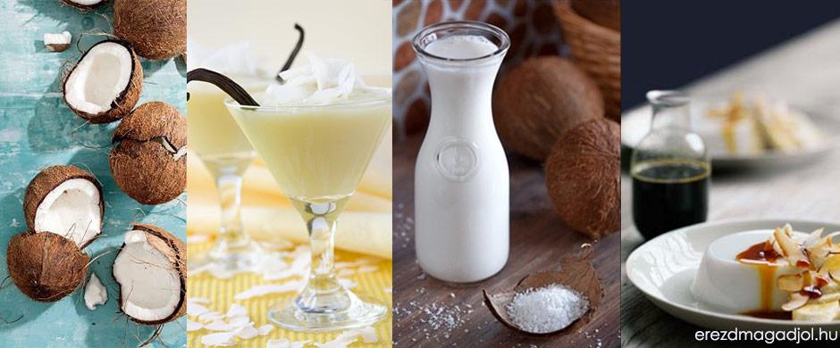 Diétás poharas kókuszos nasi – tej, liszt és cukormentes