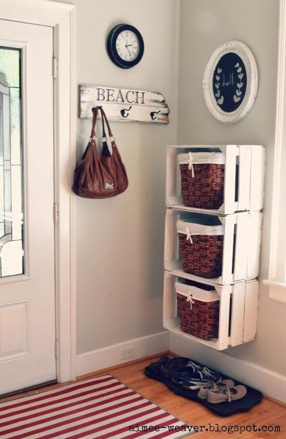 Polcok, szekrények, asztalok rekeszből – DIY és újrahasznosítás ...