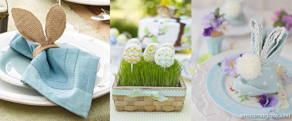 Húsvéti asztaldíszek egyszerűen – készüljünk a Húsvéti Ünnepekre