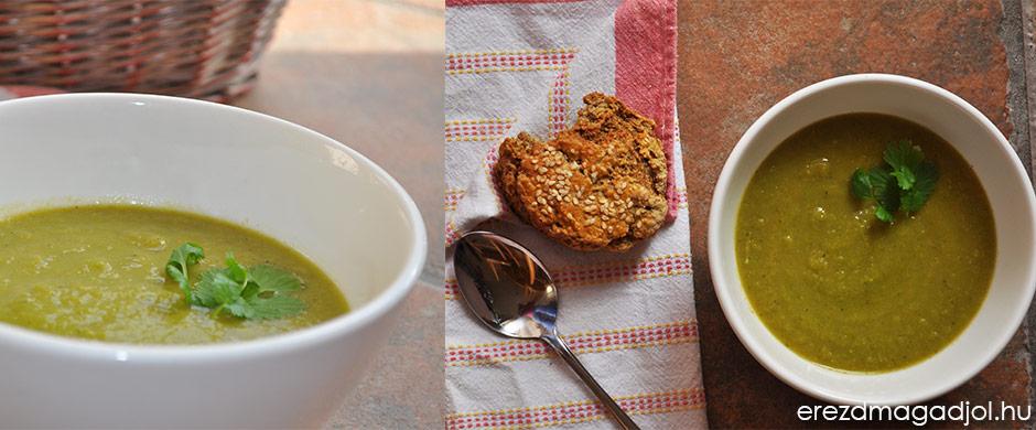 Spárgakrémleves – tej és lisztmentes