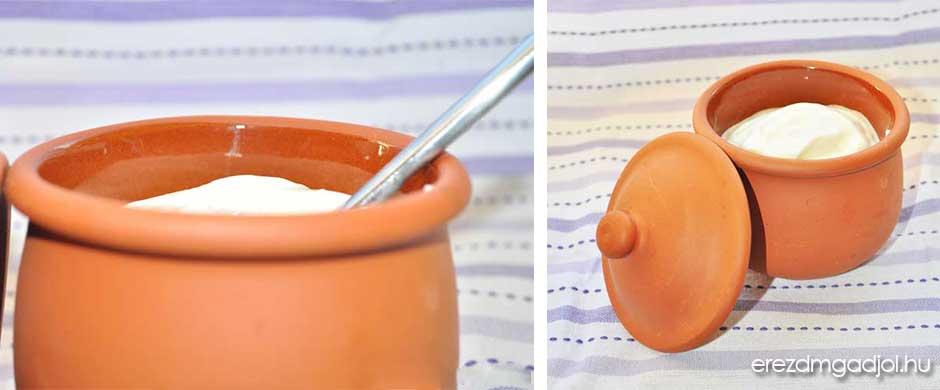 Görög joghurt – krémes probiotikum és fehérje