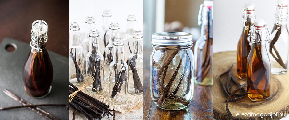 Házi vanília aroma – házi vanília kivonat