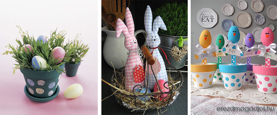 Húsvéti DIY dekoráció