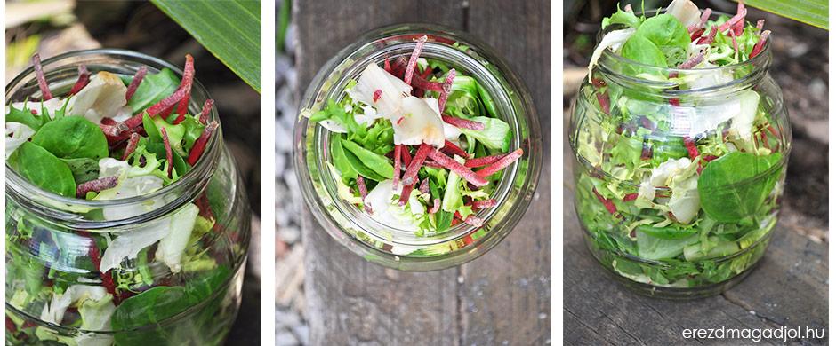 Így tartsd frissen a salátát