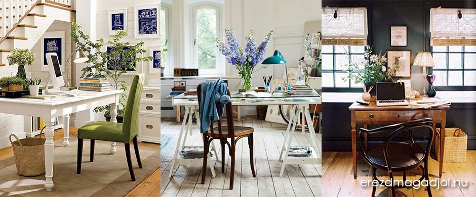 Vintage, hangulatos dolgozósarok – dolgozz otthonról