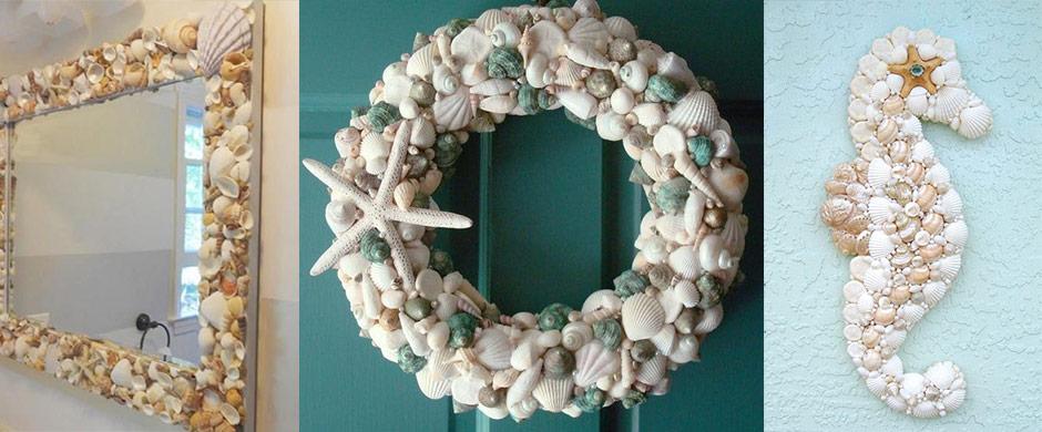 DIY ötletek kagylóból