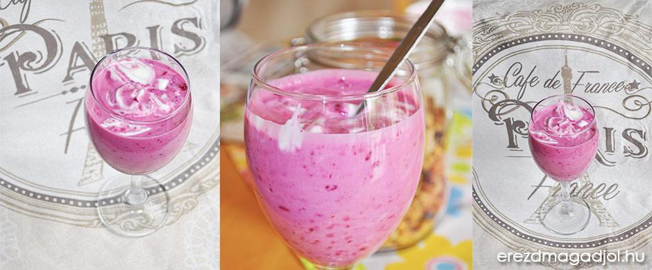Cukormentes, erdei gyümölcsös joghurt – egészséges házi desszert