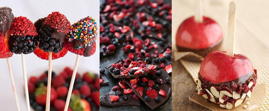 Egészséges, gyümölcsös nasik