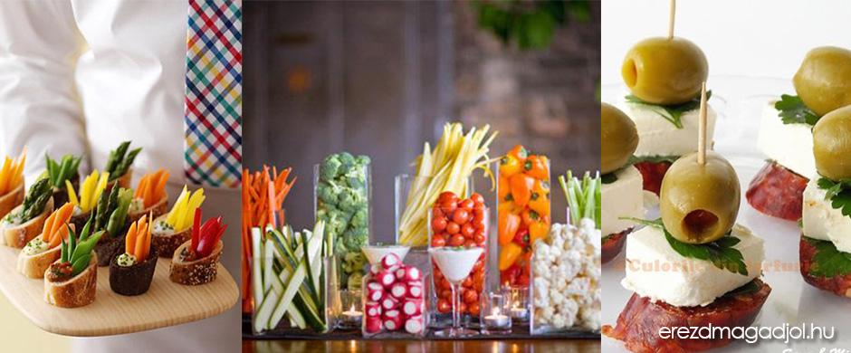 Diétás előételek – egészsége, mutatós snack