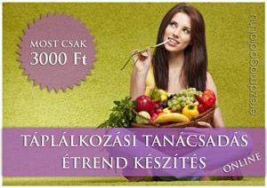 Táplálkozási tanácsadás online, diétás étrend készítés
