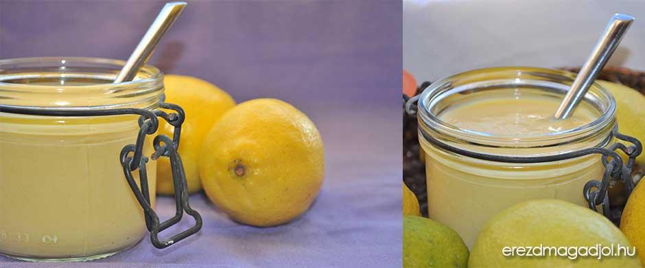 Cukormentes citromkrém – az édesen fanyar lemon curd
