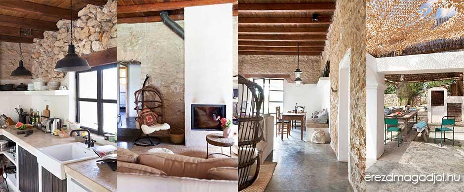Farmhouse Ibizán – inspirációs ötletek