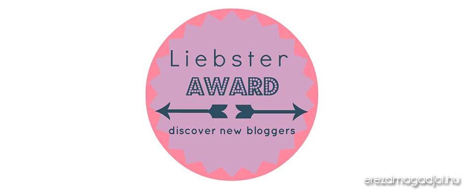 Liebster Award díjat nyertem